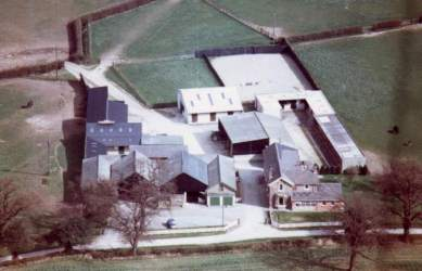 Aerial shot of Goosemoor Stud, not one of mine! Click for a larger image