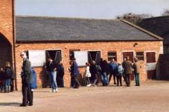 Yearling Yard, Middleham Open Day Apr 96, click for larger picture